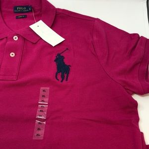 Polo Ralph Lauren Skinny Fit Short Sleeve Polo